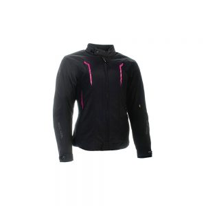 CHLOE JACKET – BLACK/PINK