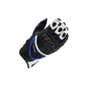 RICHA STEALTH BLACK/WHITE/BLUE SUMMER GLOVE