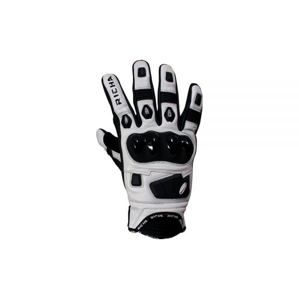 1553254987-44088900.jpg-RICHA ROCK GLOVE BLACK/WHITE SUMMER GLOVE