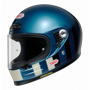 SHOEI GLAMSTER RESURRECTION TC2 BLUE/BLACK