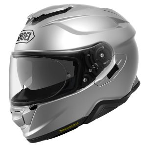 SHOEI GT AIR 2 PLAIN LIGHT SILVER