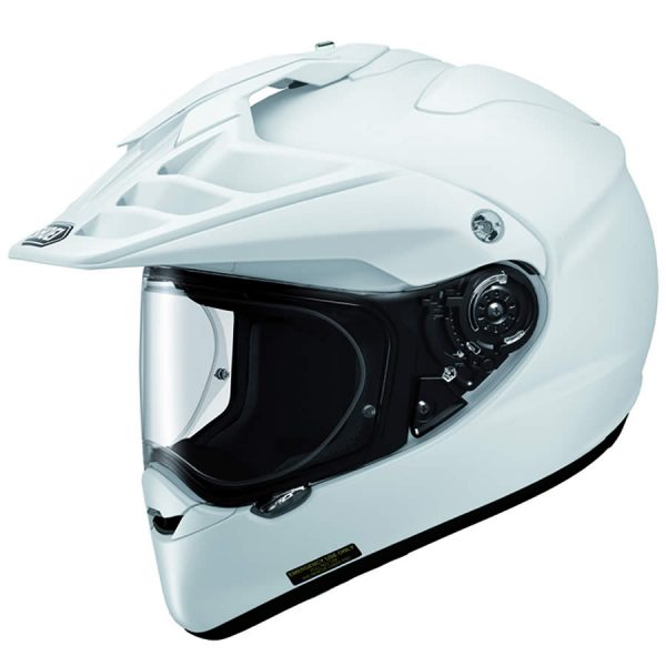 HORNET_White-SHOEI HORNET ADV PLAIN WHITE