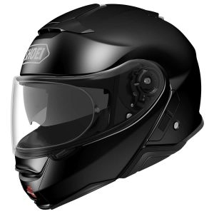 SHOEI NEOTEC 2 PLAIN GLOSS BLACK