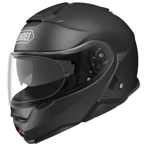 SHOEI NEOTEC 2 PLAIN MATT BLACK