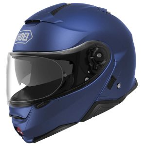 SHOEI NEOTEC 2 PLAIN MATT BLUE