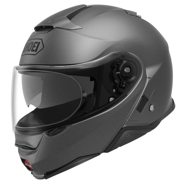 NEOTEC2_MatteDeepGray-SHOEI NEOTEC 2 PLAIN MATT DEEP GREY SPECIAL ORDER