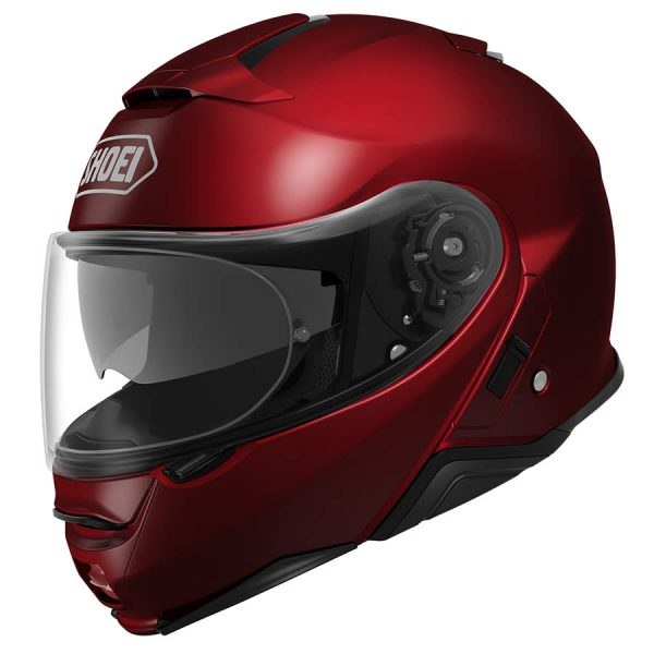 NEOTEC2_WineRed-SHOEI NEOTEC 2 PLAIN WINE RED