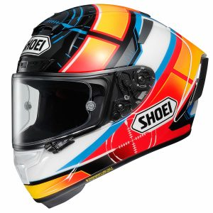 SHOEI X-SPIRIT 3 DE ANGELIS TC1 SPECIAL SIZE LARGE 59-60CM