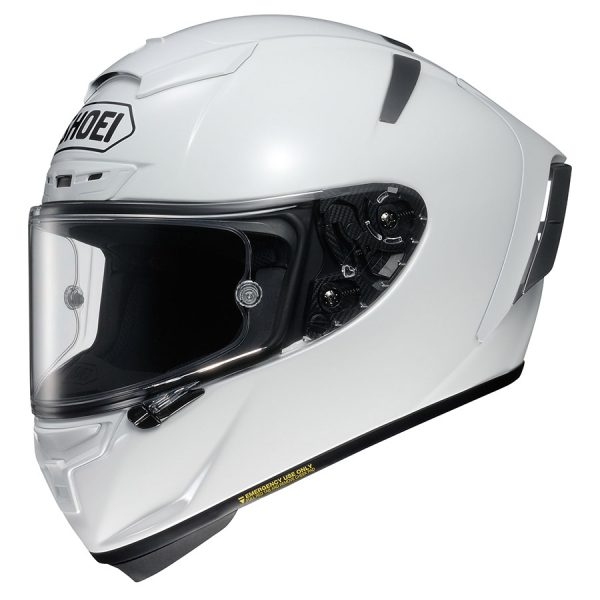 X-Spirit3_White-SHOEI X-SPIRIT 3 PLAIN WHITE