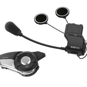 Sena 20S EVO, M/C B/T Comm System with Slim Speakers 20S-EVO-02