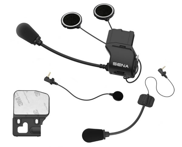 16191.jpg-Sena 20S Universal Helmet Clamp Kit with Microphones 20S-A0202