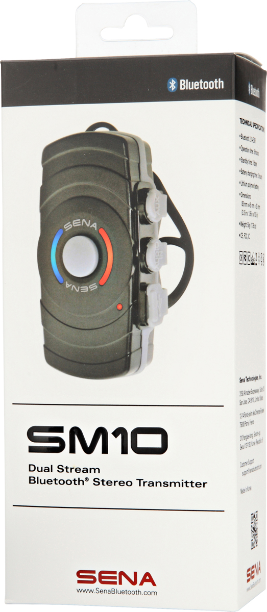 16240.jpg-Sena SM10 Dual Stream Bluetooth Stereo Transmitter SM10-01