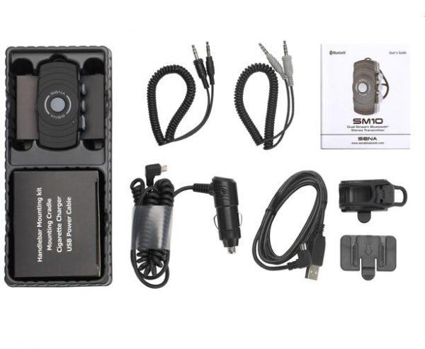 16240a.jpg-Sena SM10 Dual Stream Bluetooth Stereo Transmitter SM10-01