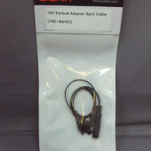 Sena 10C Earbud Adapter Split Cable 10C-A0101