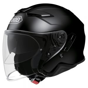 SHOEI J-CRUISE 2 PLAIN GLOSS BLACK