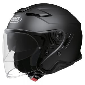 SHOEI J-CRUISE 2 PLAIN MATT BLACK