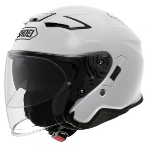 SHOEI J-CRUISE 2 PLAIN WHITE