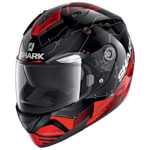 SHARK RIDILL 1.2 MECCA – BLACK/RED/SILVER