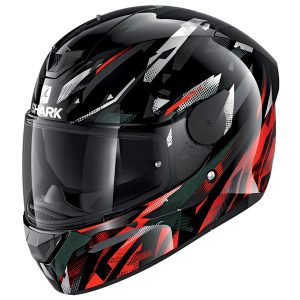 SHARK D-SKWAL 2 KANHJI – BLACK/RED/ANTHRACITE