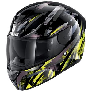 SHARK D-SKWAL 2 KANHJI – BLACK/YELLOW/ANTHRACITE