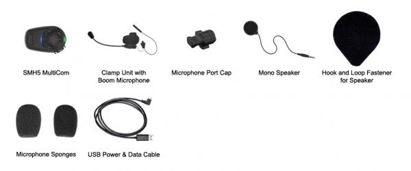 Capture-SENA SMH5-MC-01 MULTICOM BLUETOOTH COMMUNICATION SYSTEM SINGLE PACK