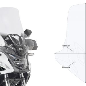 SPECIFIC CLEAR SCREEN/ HONDA CB500 X (2019)