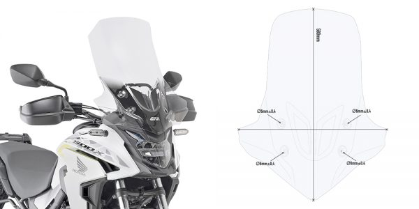 D1171ST.jpg-SPECIFIC CLEAR SCREEN/ HONDA CB500 X (2019)