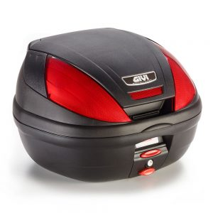 E370 MONOLOCK TOP CASE (BLACK) WITH PLATE