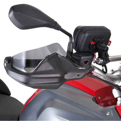 EH5108.jpg-HAND PROTECTORS EXTENSION IN PLEXIGLASS BMW R1200GS/ SEE NOT
