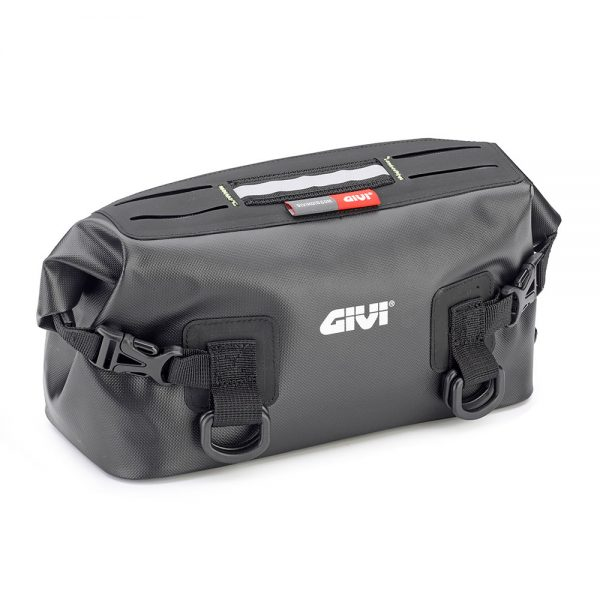 "GRT717.jpg-""GRAVEL-T"" WATERPROOF SADDLE BAG (BLK) / 5 LTRS"