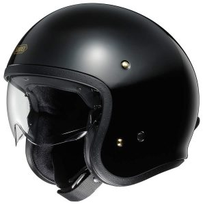 SHOEI J O PLAIN BLACK