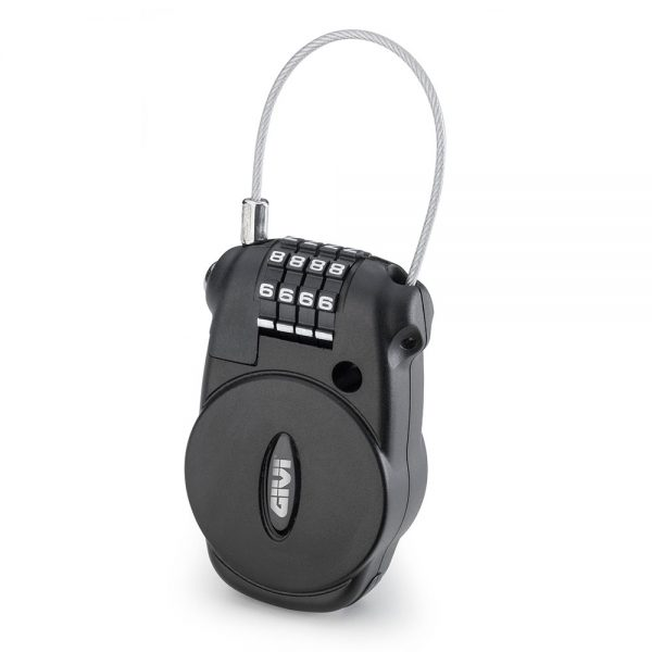 S220.jpg-PADLOCK WITH RETRACTABLE CABLE AND COMBINATION LOCK