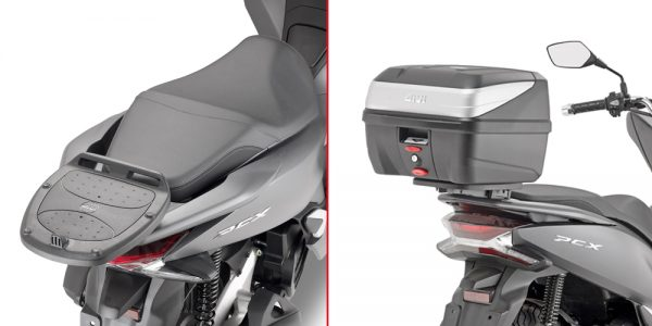 SR1163.jpg-M'LOCK REAR RACK (USE UNI PLATE) / HONDA PCX125 (10-18)