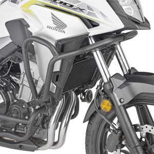 BLACK RADIATOR GUARD/ HONDA CB500X (2019)