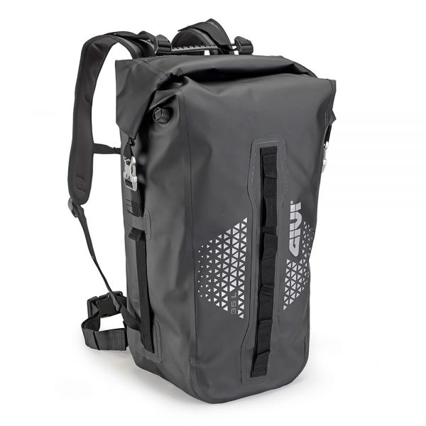 "UT802.jpg-""ULTIMA-T"" 35LTR WATERPROOF RUCKSACK (BLACK)"