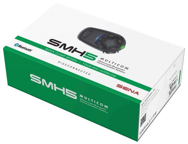smh5-mc-01-box-SENA SMH5-MC-01 MULTICOM BLUETOOTH COMMUNICATION SYSTEM SINGLE PACK