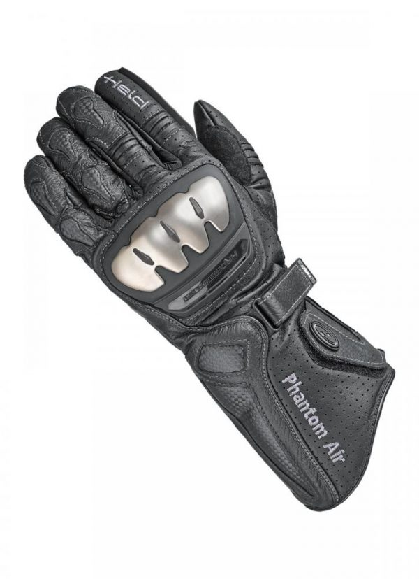 10_02191300001-HELD PHANTOM AIR SUMMER GLOVES BLACK WHITE