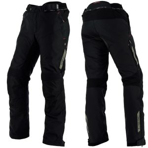 RICHA CYCLONE GORETEX GTX TEXTILE TROUSERS BLACK STANDARD LEG