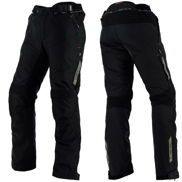 12308-082_cyclot_bk_a-1-3-600-RICHA CYCLONE GORETEX GTX TEXTILE TROUSERS BLACK STANDARD LEG