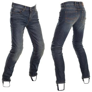 RICHA ORIGINAL SLIM PROTECTIVE JEANS REGULAR LEG STONE WASH