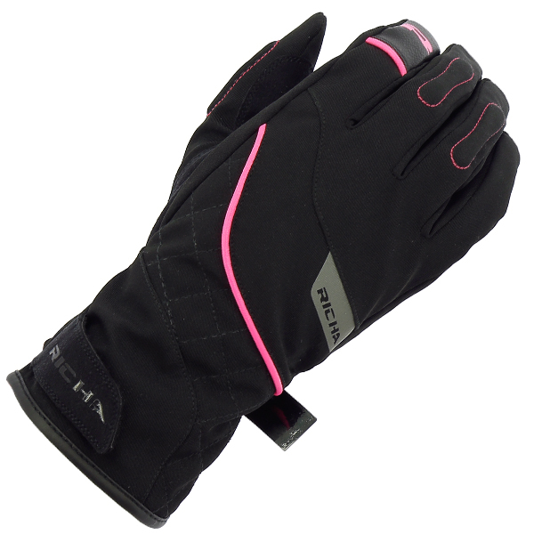 17153-081_tina2_bp_a-1-3-600-RICHA TINA 2 LADIES MID SEASON GLOVE BLACK