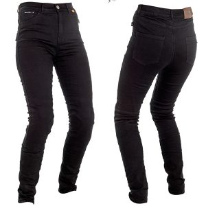 RICHA JEGGING LADIES PROTECTIVE JEANS SLIM BLACK REGULAR LEG