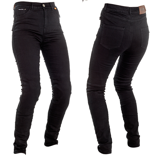 17179-082_jeggil_bk_a-1-3-600-RICHA JEGGING LADIES PROTECTIVE JEANS SLIM BLACK REGULAR LEG