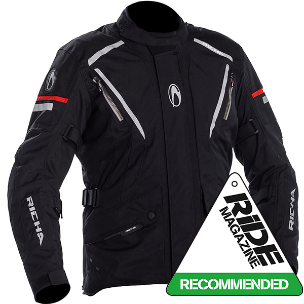 17298-082_cycloj_bk_a-1-3-600-RICHA CYCLONE GORETEX GTX TEXTILE JACKET BLACK