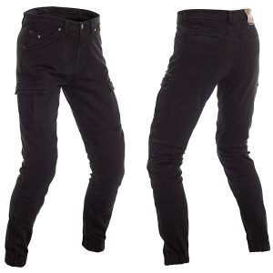 RICHA APACHE PROTECTIVE JEANS REGULAR LEG BLACK