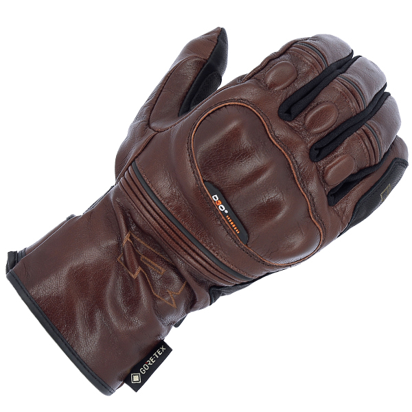 Atlantic urban brown 1-RICHA ATLANTIC URBAN GORETEX MID SEASON GLOVE BLACK