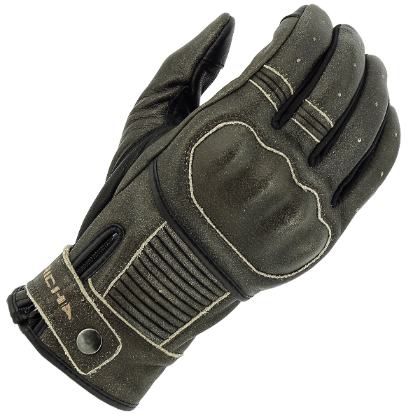 BOBBER BRN 1-RICHA BOBBER VINTAGE LOOK GREY SUMMER GLOVE