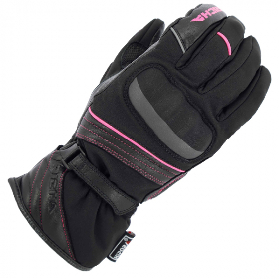ELLA 3-RICHA ELLA LADIES MID SEASON GLOVE BLACK PINK