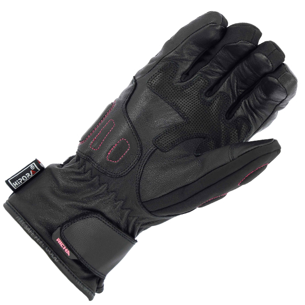 ELLA 4-RICHA ELLA LADIES MID SEASON GLOVE BLACK PINK