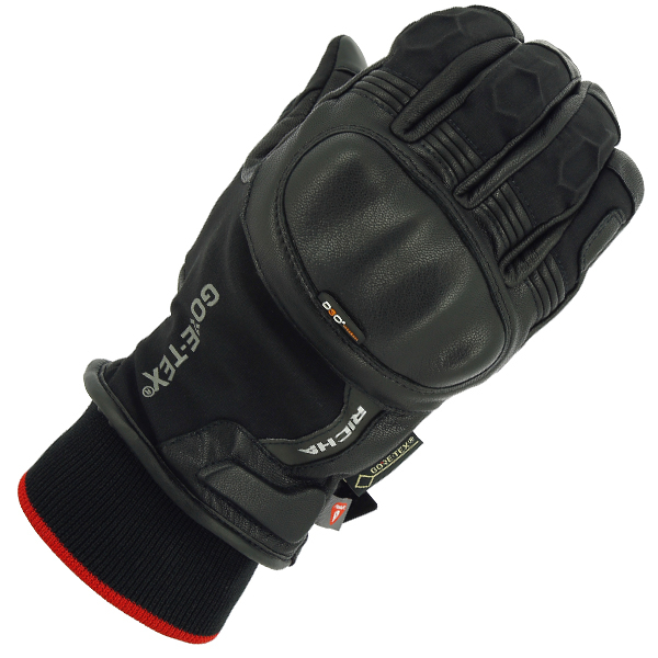 GHENT-RICHA GHENT GORETEX GTX MID SEASON GLOVES BLACK